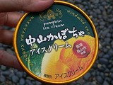 中山かぼちゃアイスクリーム 那須烏山 フタバ