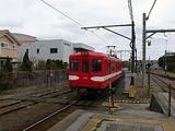 銚子電鉄 銚子駅に入ってくるところ 千葉