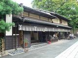 今宮神社のお参り後に白味噌仕立てのあぶり餅。