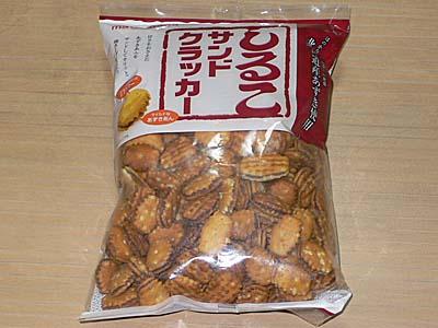 しるこサンドクラッカー 松永製菓