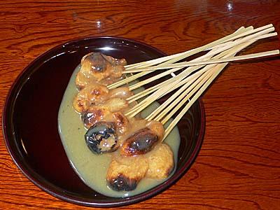 かざりや あぶり餅 京都
